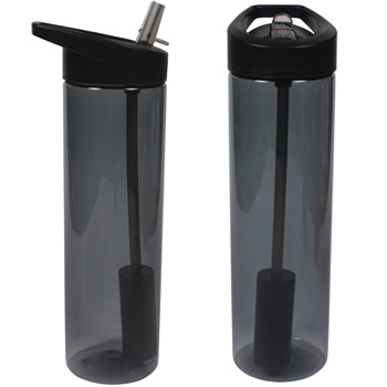 20 oz. MS Filter Bottle w/ Flip Straw
