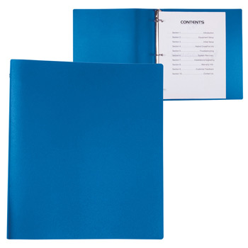 3 Ring PP Binder - 1""
